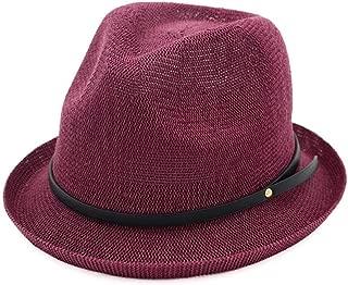XinLin Du 2019 Fashion Spring Summer Women Sun Hat Fedora Hat Curling Top Hat Classic Jazz Hat Size 56-58CM