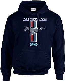 Ford Mustang Hooded Sweatshirt Mustang Pony Design