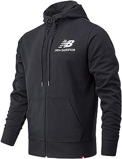 New Balance Essentials Stacked Full Zip Hoodie Chaqueta para Hombre