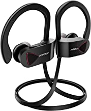 Mpow D8 Bluetooth Headphones Waterproof IPX7, 9Hrs Playback Sport Wireless Earphones w/Mic, HD Stereo in-Ear Wireless Earbuds, CVC6.0 Noise Cancelling Headsets for Running, Exercising, Workout