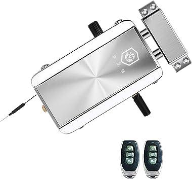 OWSOO Home Door Lock,Electronic Lock,BT Invisible Anti-Theft Door Lock,Smart Wireless APP Remote Control Lock,Keyless Entry L