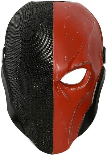 Wellgift HalFaibleeen Casque Adulte Cosplay Costume Hommes Knight Résine Visage Masque Réplique DéguiseHommest Marchandise Accessoires