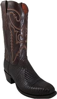 Mens T6193.S4 Cigar Lizard/Antique Brown Buffalo Custom Boot