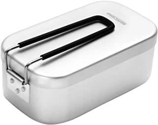 MiliCamp キャンプ用 メスティン アウトドア炊飯 飯盒 バリ取り不要 登山 山飯 MR-250 ソロキャンプ 野外用食器
