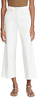 Good American Women's Pallazo Cropped Jeans