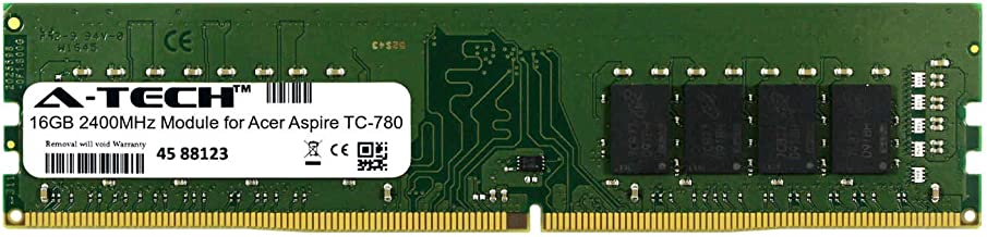 A-Tech 16GB Module for Acer Aspire TC-780 Desktop & Workstation Motherboard Compatible DDR4 2400Mhz Memory Ram (ATMS267091A25822X1)