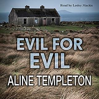 Evil for Evil audiobook cover art