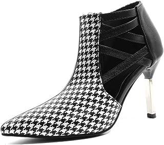 BalaMasa Womens APL11791 Pu Stiletto Heels