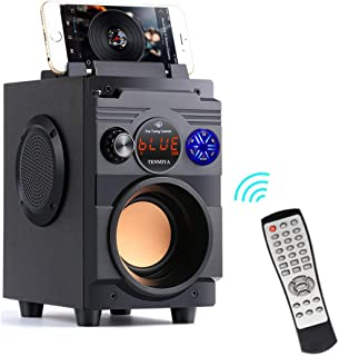$39 » Bluetooth Speakers,Bluetooth Speaker with Loud Stereo Sound,20W Subwoofer FM Radio Bluetooth 5.0,10-Hour Playtime,100 ft B...