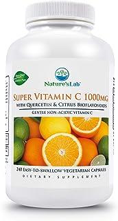 Nature's Lab Super Vitamin C 1000mg, 240 Count