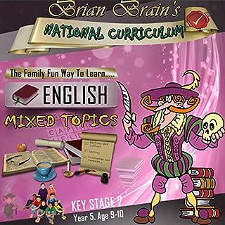 Brian Brain's National Curriculum KS2 Y5 English Mixed Topics cover art
