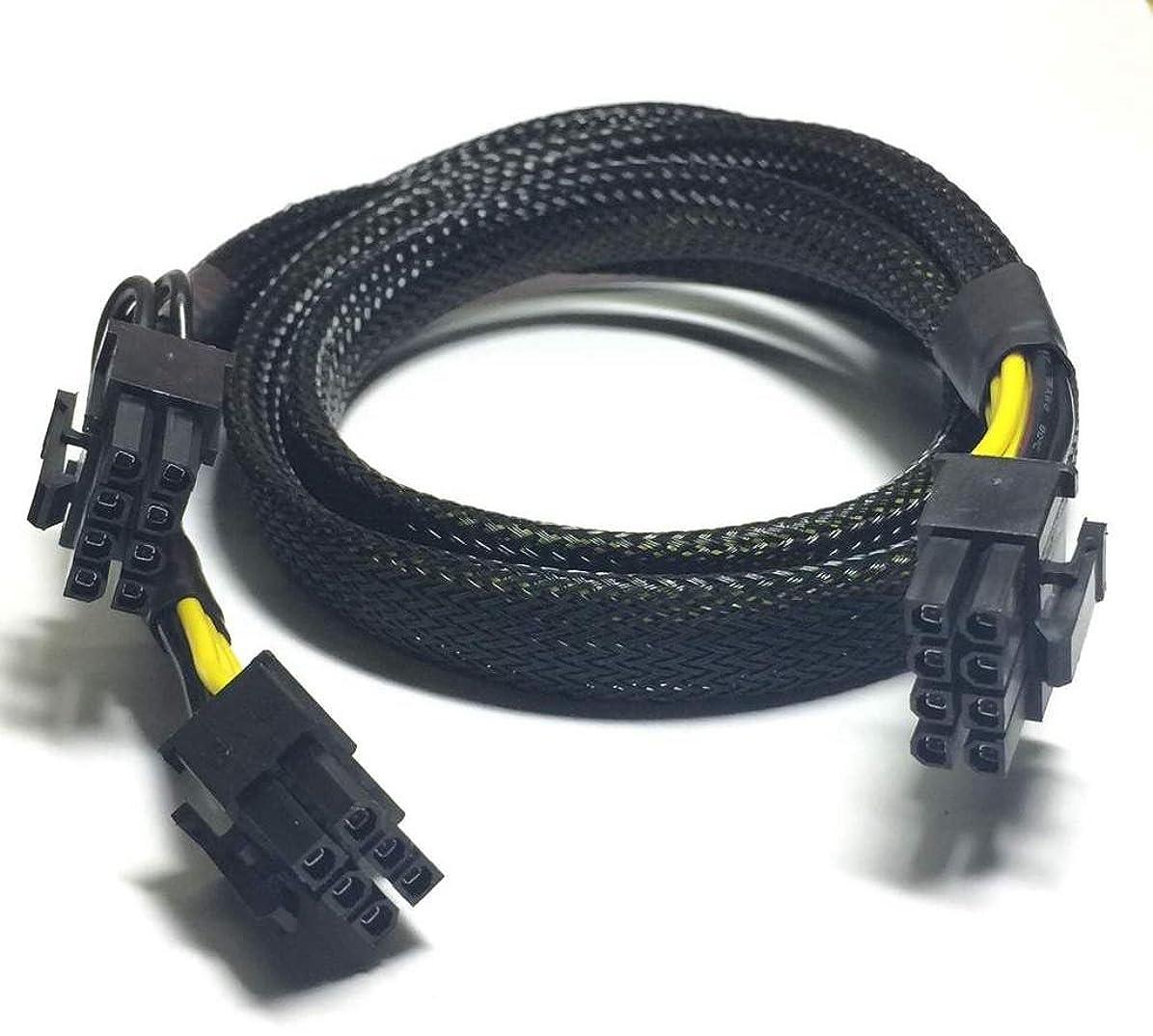 交渉するクマノミループLODFIBER 8ピン - 8+6ピン 電源ケーブル DELL T5610 NVIDIA GRID K2 GPU 35cm用