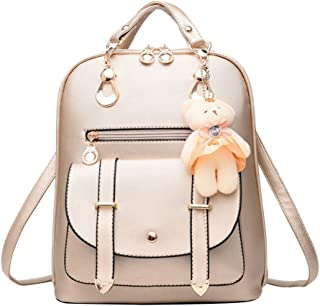 Archangel Smile Women Shoulder bag With Cute Bear Hanging ornament wave of female backpack new casual