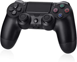 Powerextra Controller Wireless P4 - Design Avanzato del Sensore 3D e del Sensore G, Gamepad Bluetooth Wireless con Doppia ...
