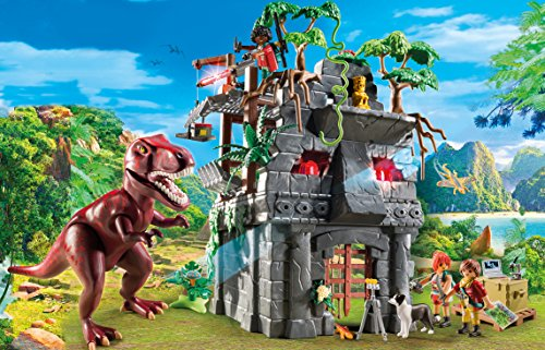 The Hidden Temple is one of the best new Playmobil sets for kids who love dinosaurs