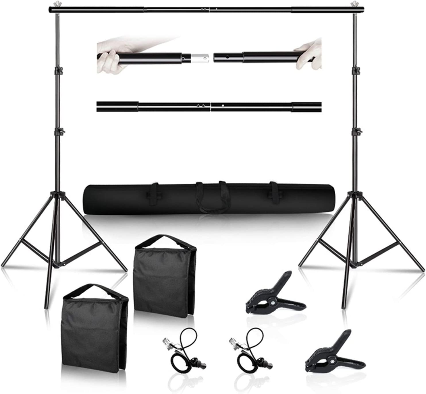Zhice Photo Background free Backdrop Support Stu for System Milwaukee Mall Kit