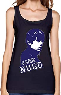 Women's Scoop Neck Sleeveless Tank Tops with Jake Bugg Printed T-Shirts Casual Tops