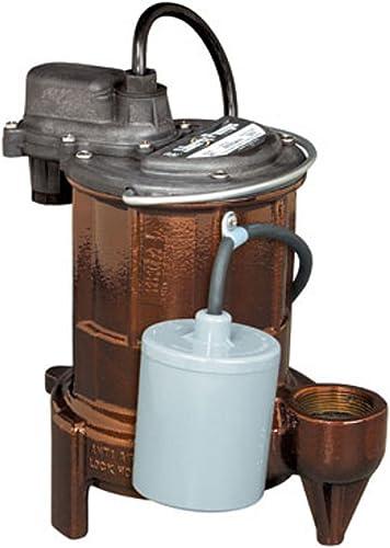lowest Liberty Pumps 253 1/3-Horse Power 1-1/2-Inch popular Discharge 250-Series Cast Iron Automatic outlet sale Submersible Sump/Effluent Pump outlet online sale