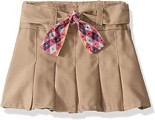 Girls' Scooter with Hidden Short and Fabric Belt