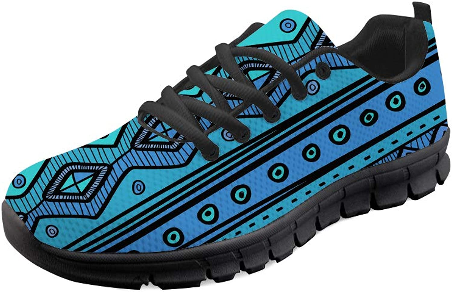 Chaqlin Flat Trail Sport shoes Flat Running Jogging Sneakers bluee Size 35