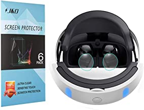 [6-Pack] Playstation VR Screen Protector, J&D Premium HD Clear Film Shield Screen Protector for Sony Playstation VR