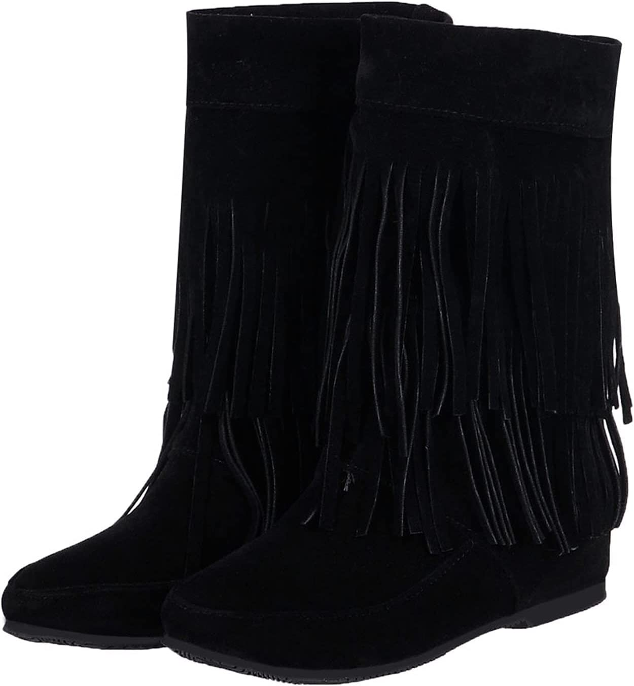 ayaso Womens Western Cowgirl Mid Square-Toe He Chunky Super Gorgeous Special SALE held Boots Calf