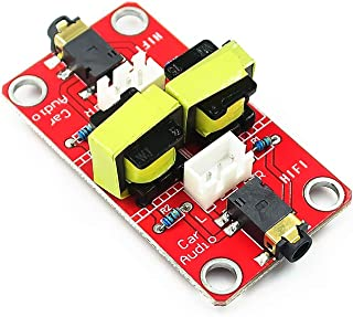 Taidacent Audio Noise Common Ground Noise Isolator 3.5mm AUX Noise Filter Isolator Car Audio Car Navigation GPS Current So...