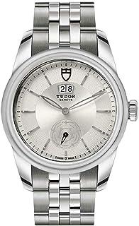 Tudor Glamour M57000-0004 メンズ腕時計 ダブルデートシルバーダイヤル