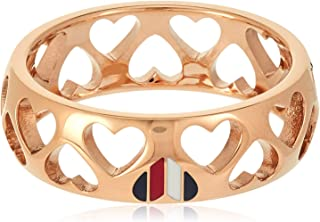 TOMMY HILFIGER WOMEN'S IONIC ROSE GOLD PLATED STEEL RINGS -2701095E