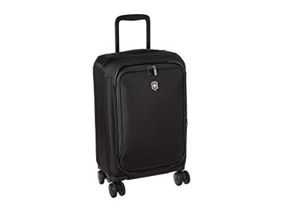 Victorinox Connex Frequent Flyer Softside Carry-On (Black) Luggage