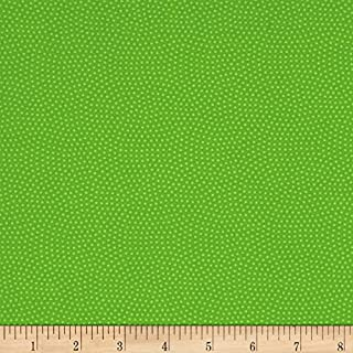 Timeless Treasures 0529267 Spin Dot Lime Fabric by The Yard