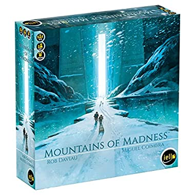 IELLO Mountains of Madness Strategy Board Game