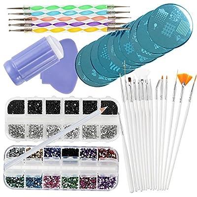 VAGA Manicure Set Nail Art Supplies Nail Kit 2