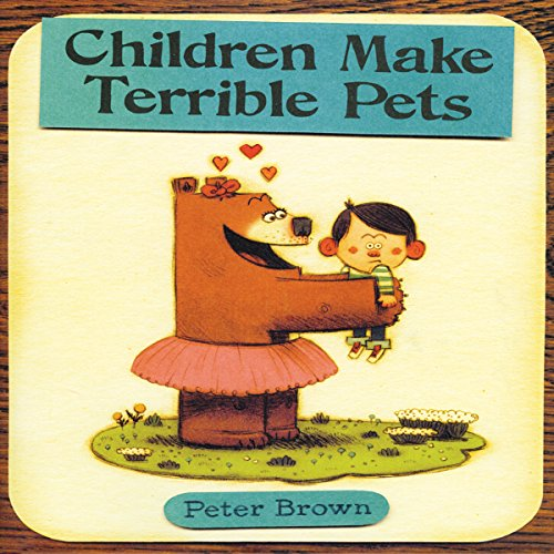Children Make Terrible Pets audiobook cover art