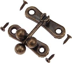 SSB-JIAOLIAN, 2ST Vintage Meubels Vallen Locked Box Koffer Toggle Latch Buckles Zink-Legering Hout Box Latch Haspen Meubel...
