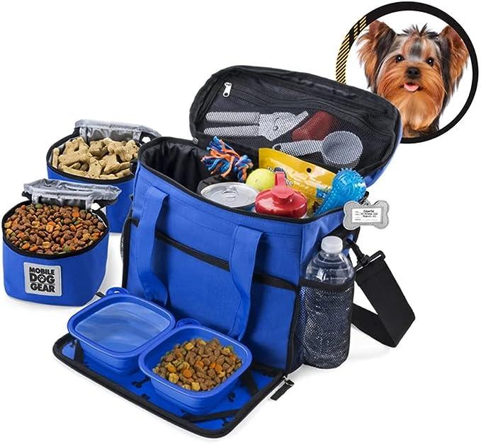 Amazon.com : Mobile Dog Gear Week Away Bag Small Dogs Royal Blue : Pet Supplies