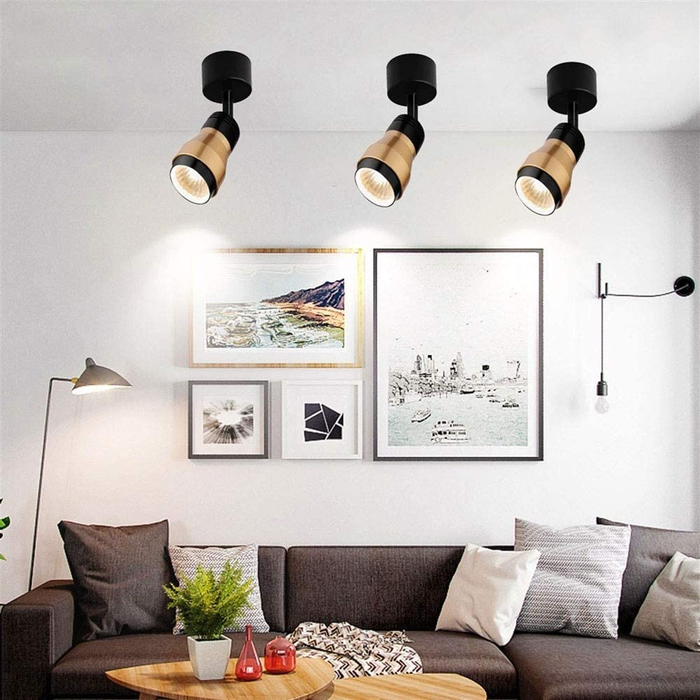 Sunny New arrival Lingt 3PCS Ceiling Spot Light Mounted 7W Ligh Max 58% OFF Surface Down