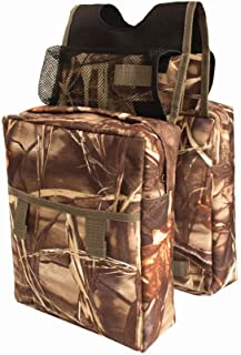 Snowmobile ATV Tank Saddlebags - Coco Durable Universal ATV Tank Bag Mossy Oak Waterproof Front Accessories Storage Pack Luggage with Water/Drink Pocket