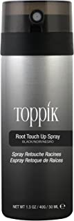 Toppik Root Touch Up Spray, Black, 50 ml