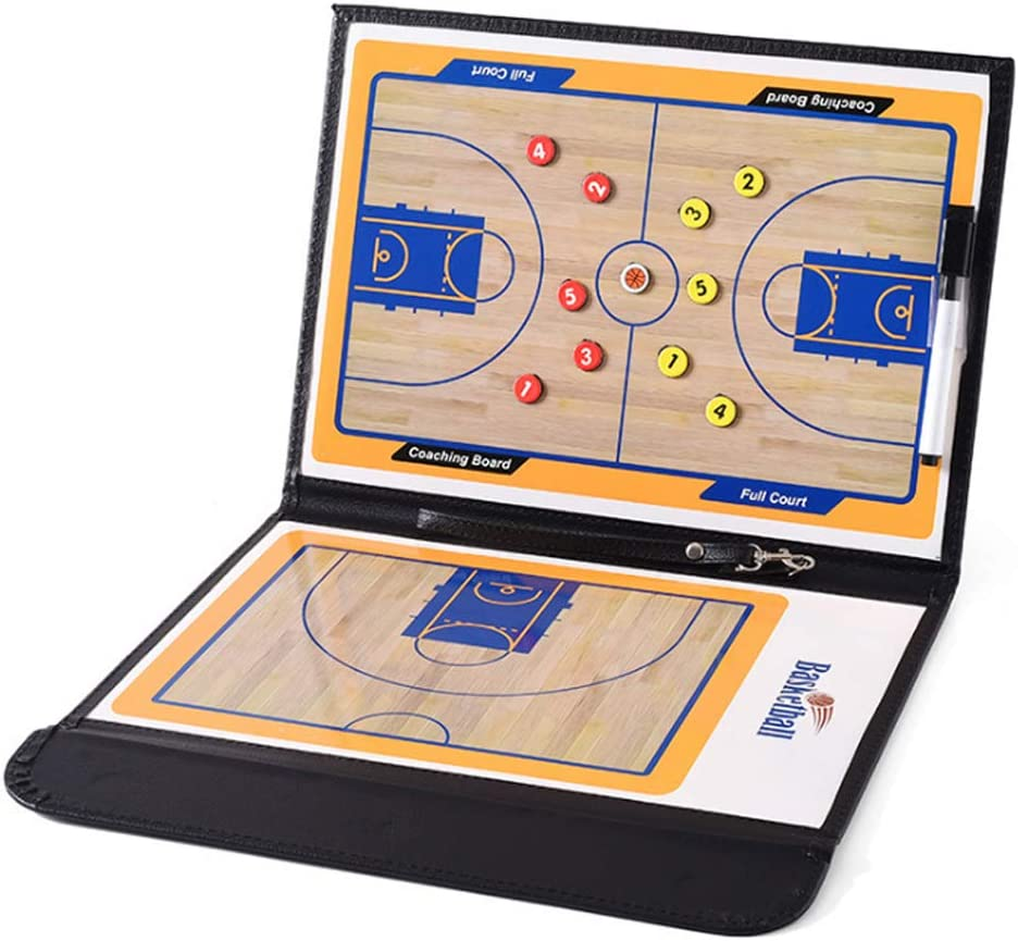 Famgee Year-end annual account Foldable Basketball Coaching Ref Strategy Clipboard Board Special sale item