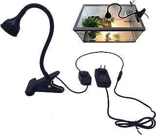 LED Reptile Pet Heating Light with Light Holder, UVA+UVB Reptile Heating Light Bulb Sunlight Lamp Ultraviolet UVA Bulb UVB...