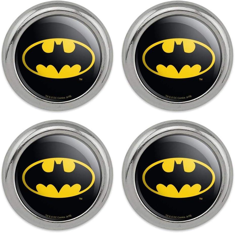 Batman Classic Bat Shield Logo Metal Craft Sewing Novelty Button