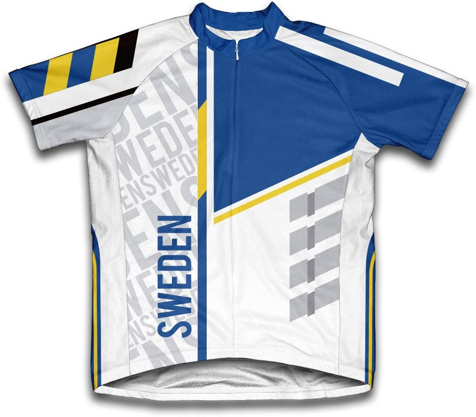 ScudoPro Sweden Short Sleeve Super-cheap Cycling At the price Men for Jersey