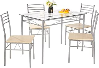 Best table with glass Reviews
