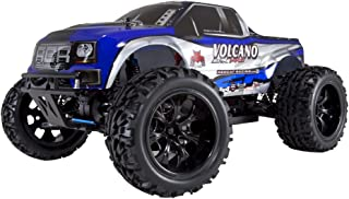 Redcat Racing Volcano EPX PRO Brushless Electric Truck, Blue/Silver, 1/10 Scale