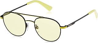 نظارات شمسية للجنسين من ديزل DL028705J50 - اسود / روفيوكس - معدنية