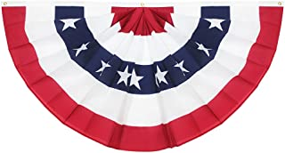 Best half circle us flag Reviews