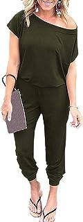 بدلة نسائية قصيرة الأكمام من كاي SINN كاجوال بخصر مطاطي مع جيوب
