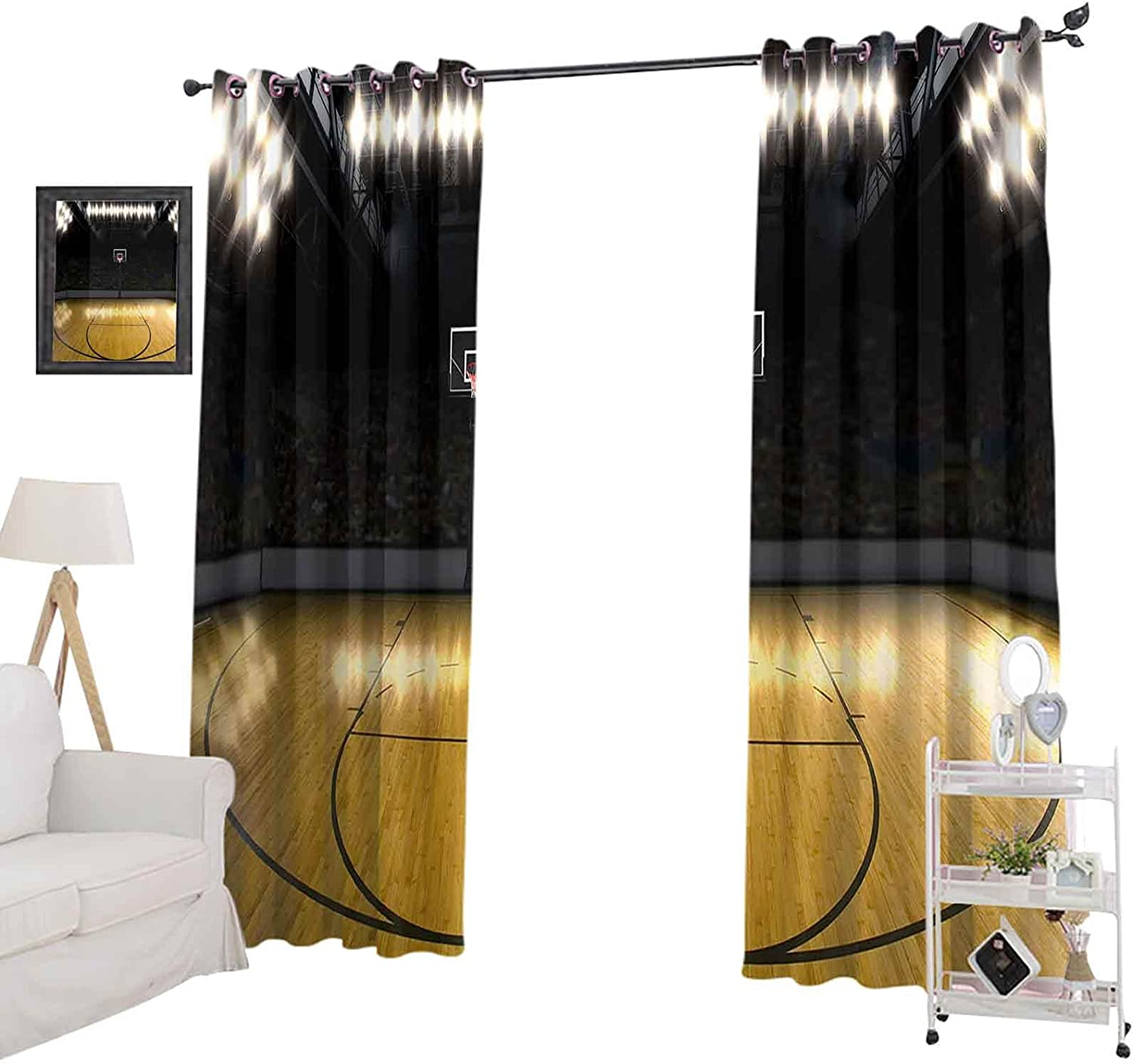 Nashville-Davidson Mall Blackout Curtains for Living Room Genuine Free Shipping Curtain Window Long 72 Inches