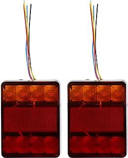 FAVOMOTO 2Pcs LEVOU Caminhão Barra de Luz Da Cauda Parada Vez Cauda Transformar a Luz Running Luz Da Cauda Do Freio Revers...
